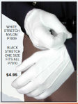 GLOVE NYLON STRETCH EXTRA LONG 14