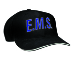 E.M.S. Direct Embroidered 6 Panel Cotton Twill Summer (Reflective Trim) Cap