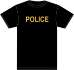POLICE 100% COTTON T-SHIRT