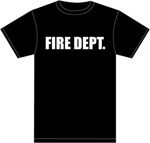 FIRE DEPT. 100% COTTON T-SHIRT